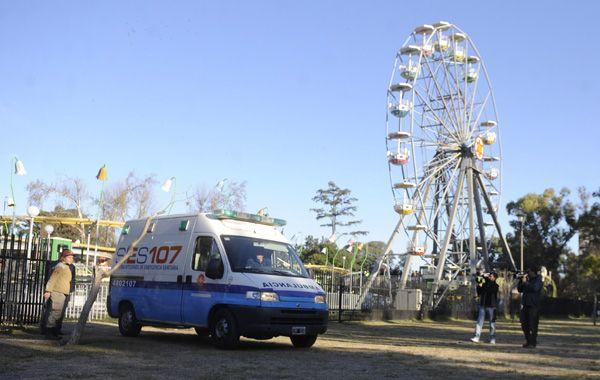 El accidente ocurrido el sábado pasado en el Parque Independencia estará en la mesa del Concejo.(M.Sarlo)