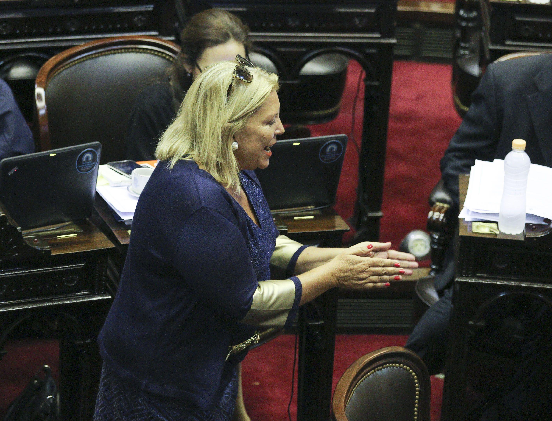 Carrió dijo que Cristina planea un autogolpe y pidió a la oposición no ir a la Asamblea Legislativa.
