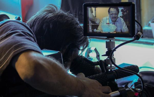 Equipo. Luis Machín protagoniza la serie junto a un grupo de artistas de sólida trayectoria. (gentileza: Carmen Gondard)