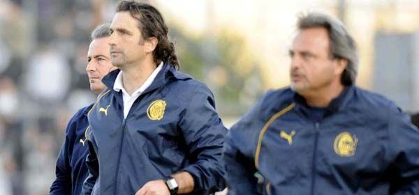 Juan Antonio Pizzi con el profe Fleitas