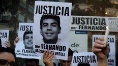 Rinden homenaje a Fernando Báez Sosa en Villa Gesell a un año del crimen.