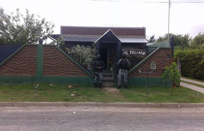 Uno de los allanamientos donde se llevaron a cabo las detenciones. (Prensa Ministerio Público de la Acusación)