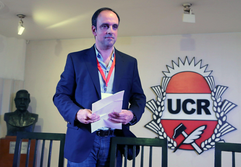 El presidente de la UCR