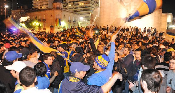Quedaron libres los hinchas de Central detenidos por provocar incidentes en avenida Pellegrini