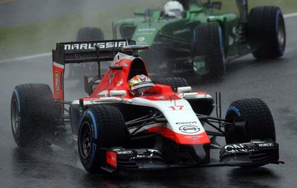 El diario alemán Sport Bild publicó ayer que Marussia instó por radio a Bianchi a pilotear rápido para mantener tras de sí al sueco Marcus Ericsson.