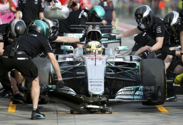 Favorito. El británico Lewis Hamilton