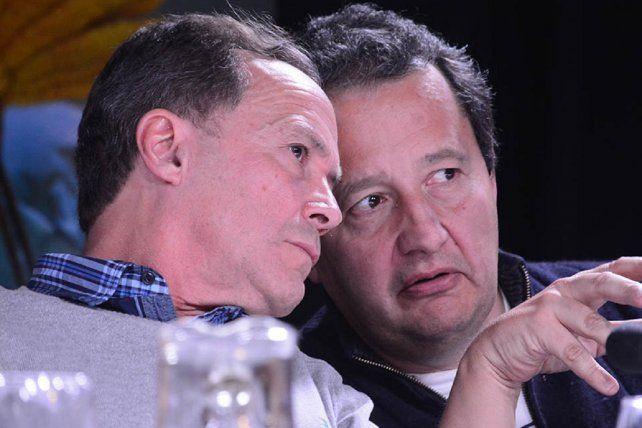 Giustiniani y del Frade plantean diferentes estrategias para las próximas elecciones (Imagen: Sebastián Vargas).