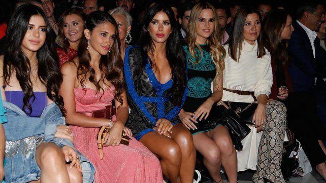 Antonela Roccuzzo deslumbró con Daniella Semaan en evento de moda de Barcelona