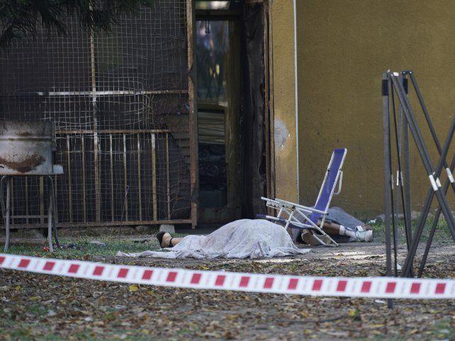 César Navarro y Cristian Bagolino fueron asesinados a balazos por dos personas que se acercaron a pie