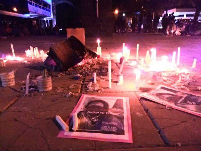 El homenaje que la comunidad sanjorgense le rindiò anoche a Florencia Gómez Pouillastrou
