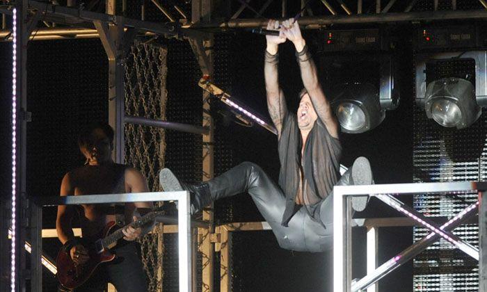 Ricky Martin le cantó a la libertad sexual y pasional en Metropolitano