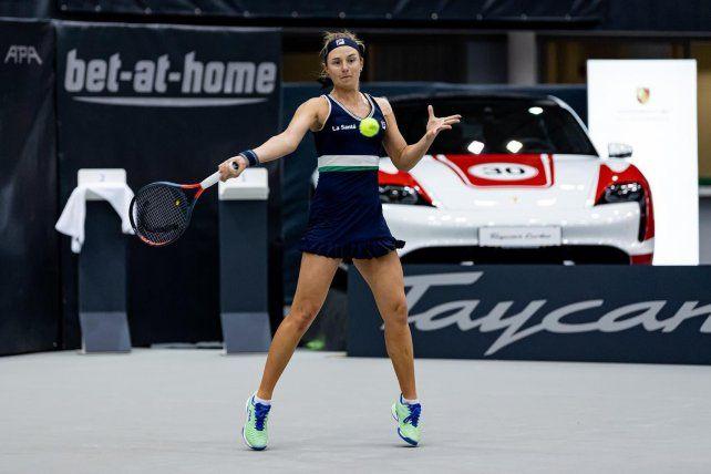 Podoroska cerró el año subiendo aún un lugar más en el ranking WTA