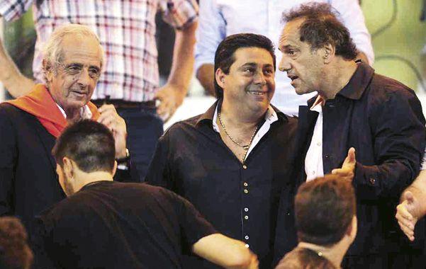 Juntos. D'Onofrio y Angelici quieren incrementar los fondos de la televisión para River y Boca.