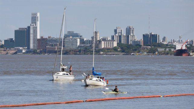 La actividad náutica volvería este fin de semana.