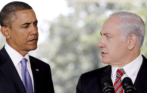Tensión. Obama cree que Netanyahu no fomenta la perspectiva de una solución al conflicto árabe-israelí.