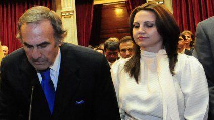 El estado de papá no se agravó, dijo Cora, hija del ex gobernador Carlos Reutemann