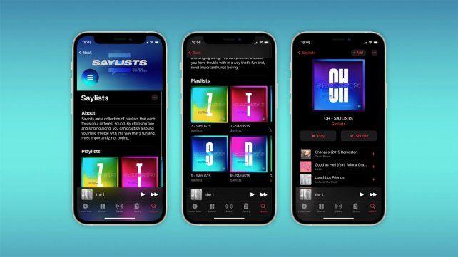 Apple Music utiliza un algoritmo que analiza las canciones para identificar aquellas que más repiten determinados sonidos.
