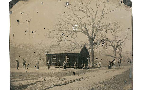 La fotografía fue encontrada en 2010 en una casa de objetos de segunda mano.