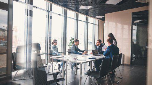Cinco modelos para una oficina
