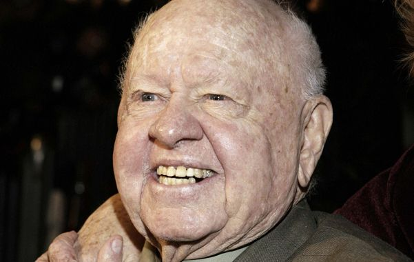 Mickey Rooney murió a los 93 años.
