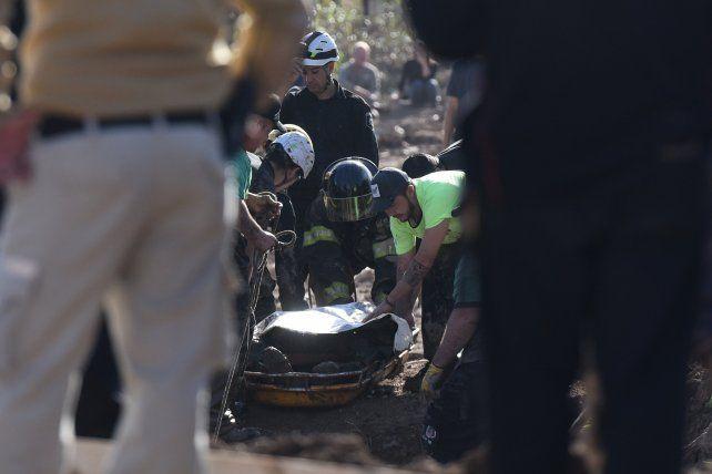 Falleció un operario cuando excavaba en un pozo de 15 metros