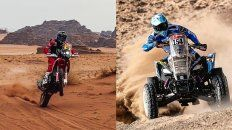 Kevin Benavides y Manuel Andújar, campeones del Rally Dakar
