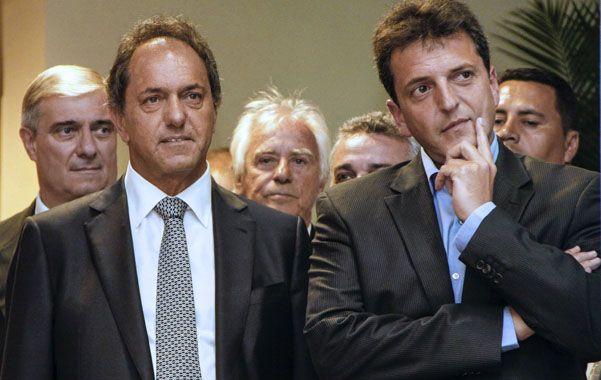 Recelos. Daniel Scioli y Sergio Massa se juegan algo más que el resultado de las legislativas de octubre.
