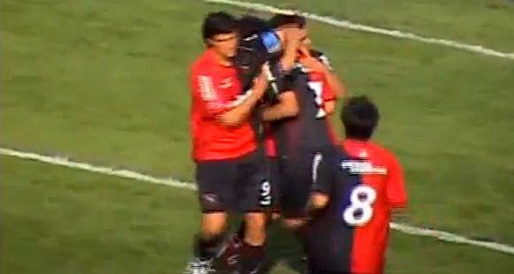El video de los goles de Muñoz y Urruti, una sociedad que viene de las inferiores