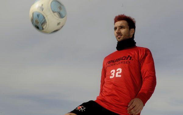 Scocco es el artillero de la temporada y la directiva elaboró la prórroga de su contrato para que juegue la Libertadores.