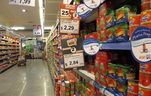 Las estadísticas privadas señalaron que el aumento de precios en 2014 rondó el 38