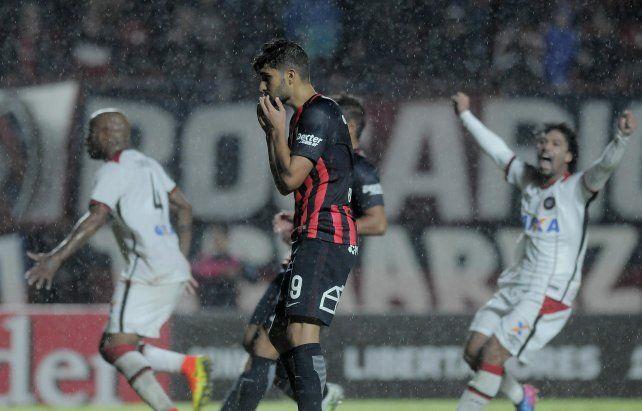 Cuervo preocupado. El Ciclón complicó su clasificación en la Libertadores.