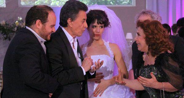 El casamiento con show de Palito Ortega hizo brillar a Graduados