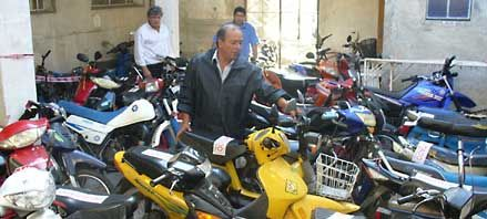Villa Constitución: en menos de una semana incautaron más de 130 motos