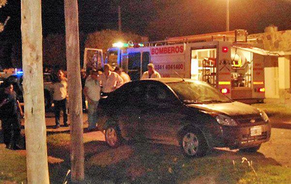 En el baúl. El Ford Fiesta en el que apareció el cadáver de Carlos Fajardo.