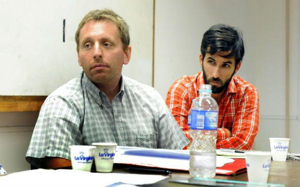 Críticos. Martín Schorr (izquierda) y Alejandro Gaggero. Completa el equipo de autores Andrés Wiener.