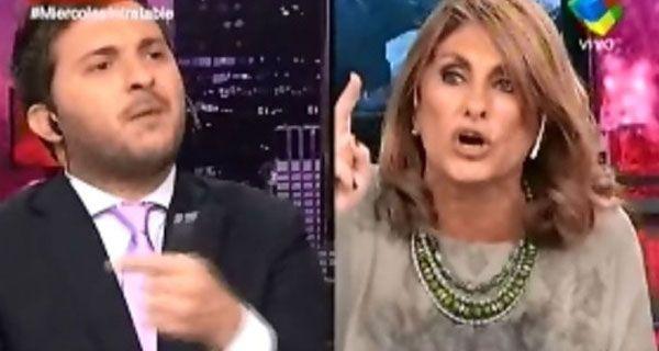 Escándalo en Intratables entre Fernández Barrio y Brancatelli