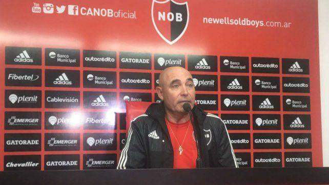 El entrenador de Newells