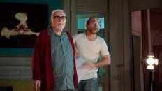 """Acción. Pepe Soriano y el director Gonzalo Calzada en un alto del rodaje de """"Nocturna"""", un thriller psicológico."""