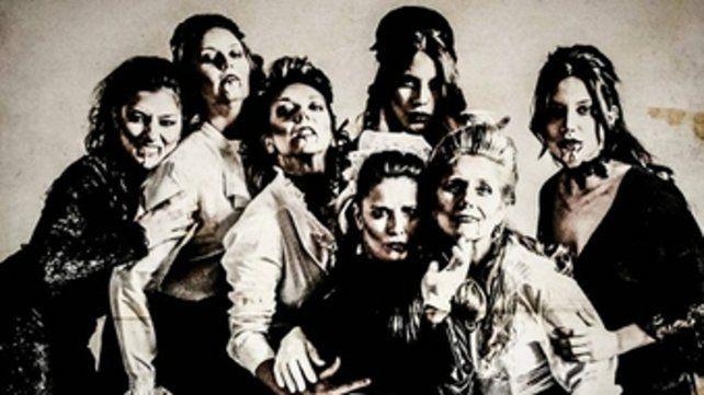 Triple elenco. Más de una decena de actrices rosarinas en escena.