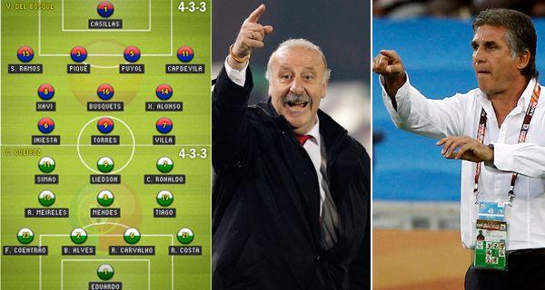 España y Portugal en un duelo decisivo