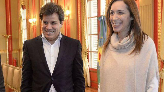 Facundo Manes y María Eugenia Vidal
