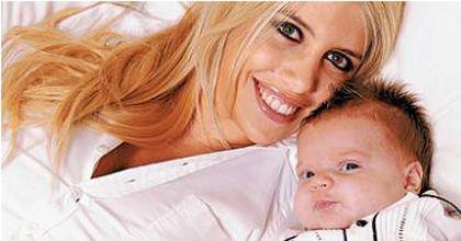 Wanda abre las puertas de su residencia en Brasil y presenta a su hijo Valentino