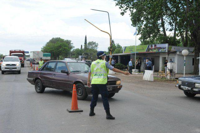 Fiscalización. La Policía de Seguridad Vial realizó este año más de 29 operativos en las rutas nacionales y provinciales de Santa Fe.