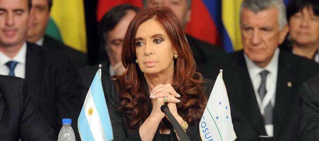La presidenta fue anfitriona de la última cumbre del Mercosur realizada en Mendoza.