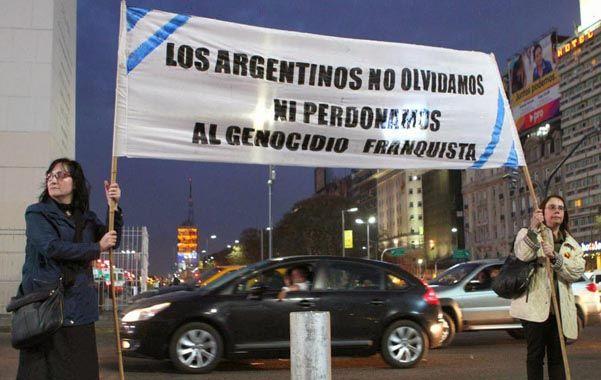 Reclaman a España por crímenes franquistas