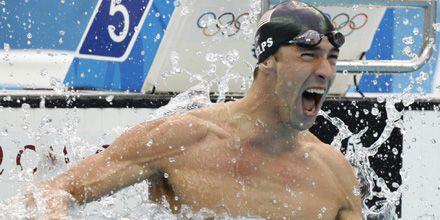 Con 8 medallas de oro, Phelps ya es leyenda