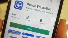 El Boleto Educativo Gratuito puede gestionarse a través de una aplicación.