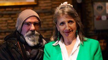 Vitale y Alberto Muñoz. Ella rescata la obra del compositor y poeta en su nuevo espectáculo.