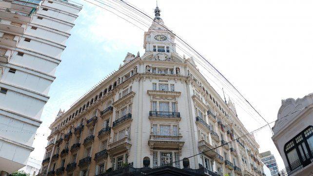 Un palacio en el centro de Rosario