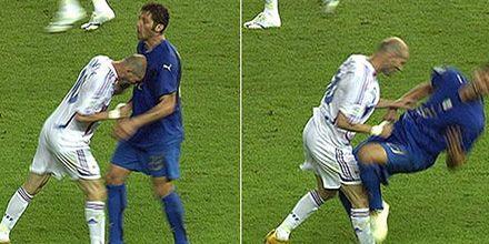 Era hora: después de dos años Zidane se arrepiente del cabezazo